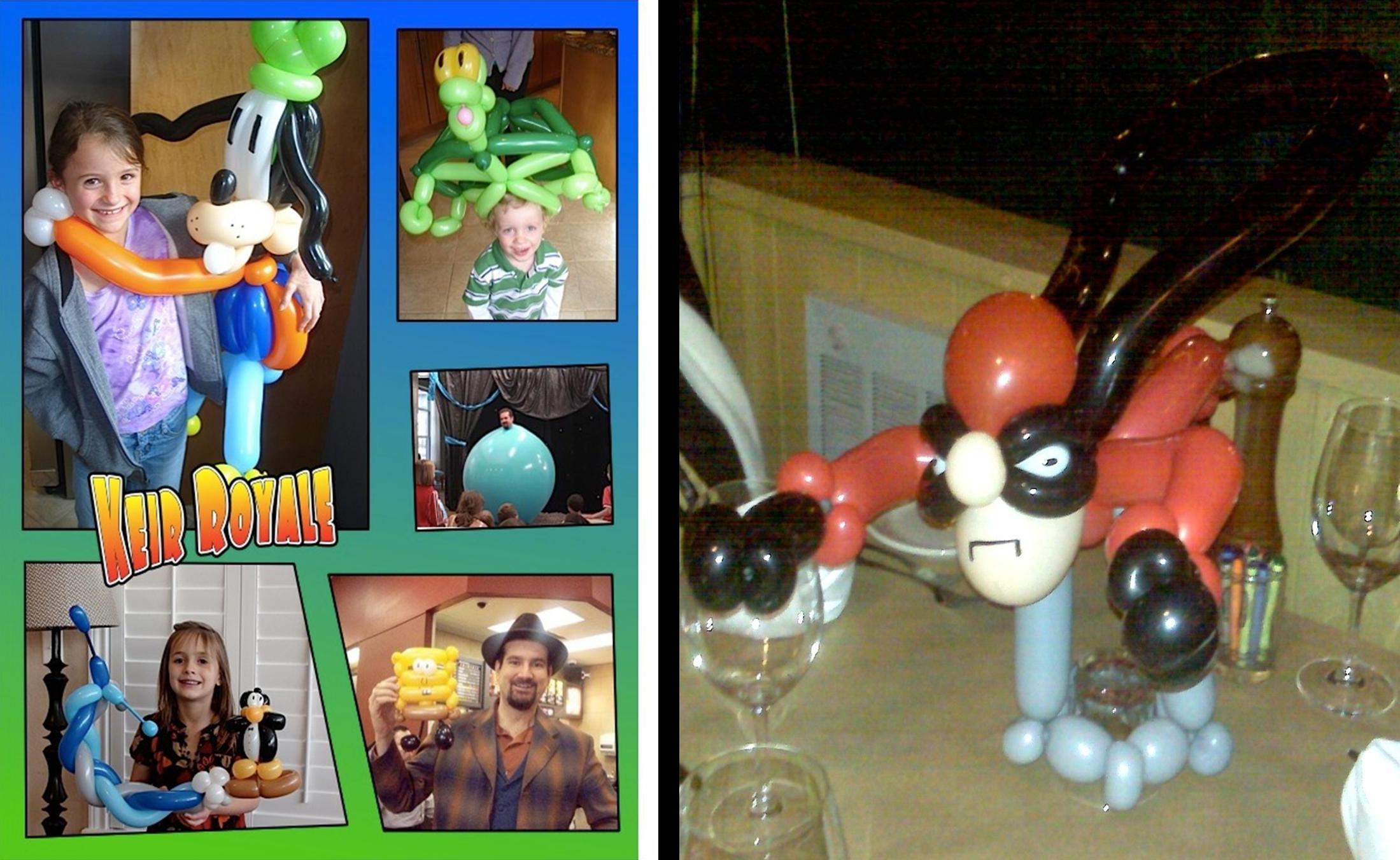 creations by denver balloon artist keir royale