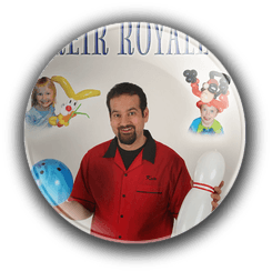balloon art by Denver party magician Keir Royale