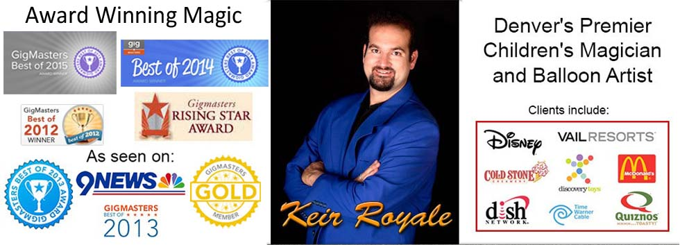 keir royale magician 2015 awards client list