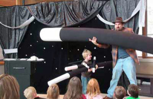 kids birthday party planner, magic show