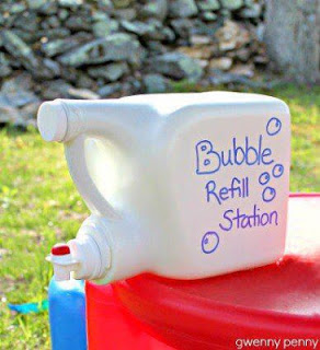 make your own bubble solution!