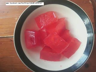 jello ice, edible and fun
