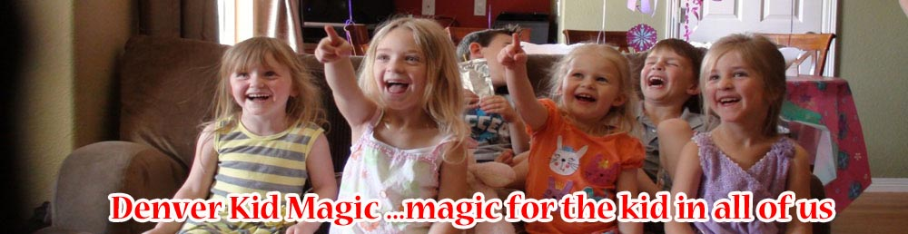 kids birthday party magic