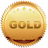 gold kids party icon