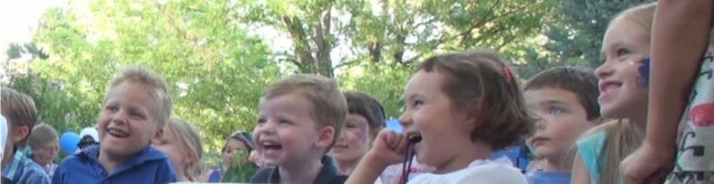 Outdoor magic show for kids in Lakewood